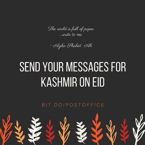 Kashmir Eid Messages
