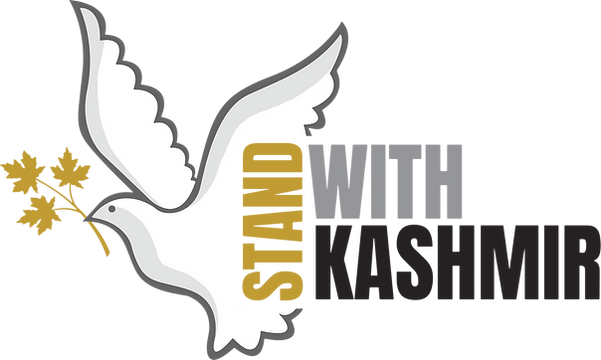 Stand with Kashmir logo