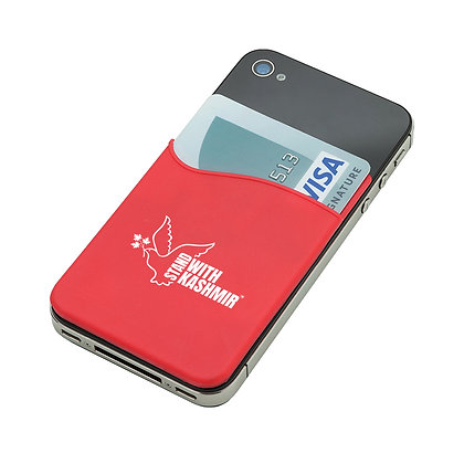 SWK Silicon Phone Sleeve in Red
