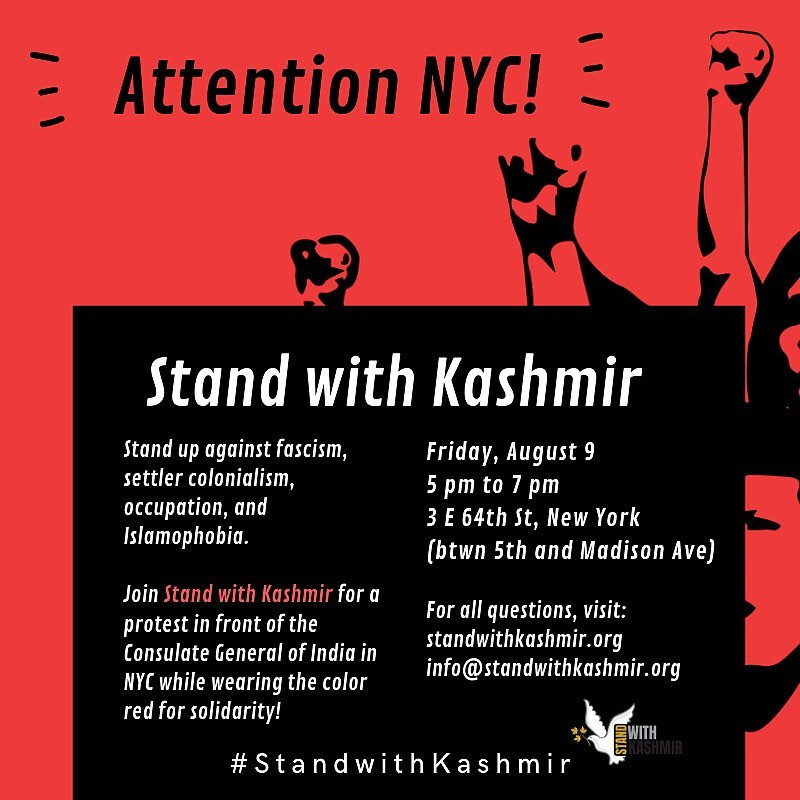 NYC - Stand with Kashmir