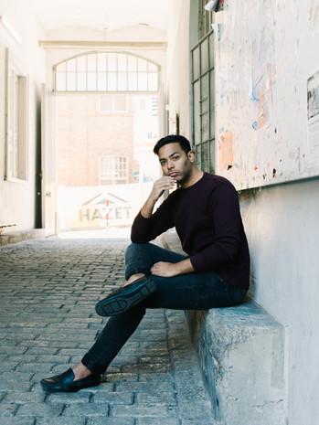 guy portrait at WUK, Vienna