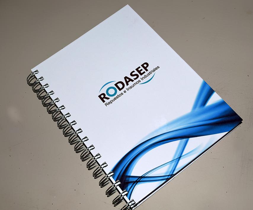 Cuaderno Personalizado Rrodasep
