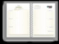 muesra pagina agenda personalizada