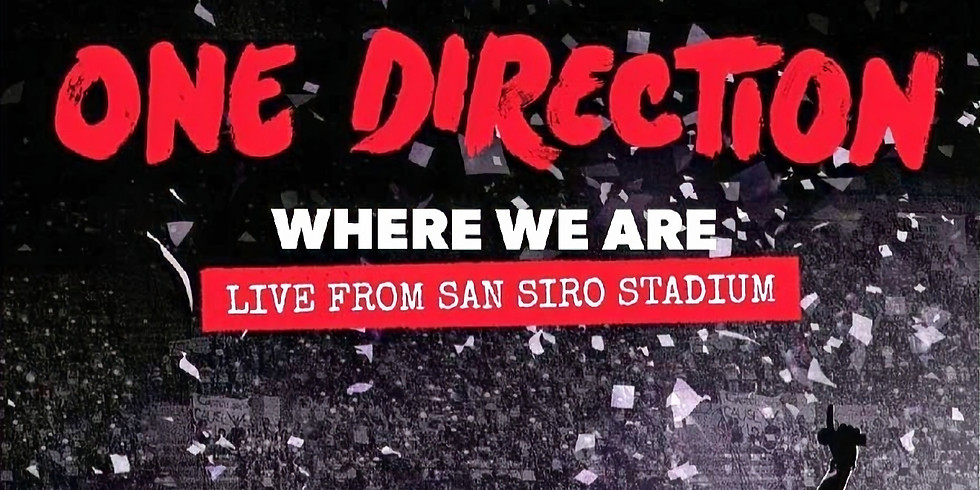 Cafe Concerts: One Direction Concert Watch Party