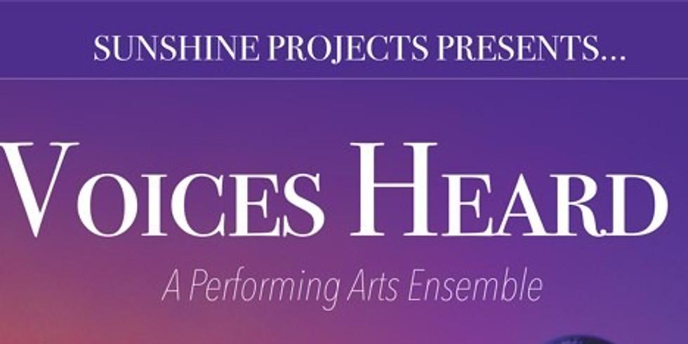 Voices Heard: A Performing Arts Ensemble