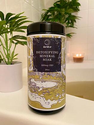 Detox Mineral Soak 3 Bath Set         600mg - 24oz