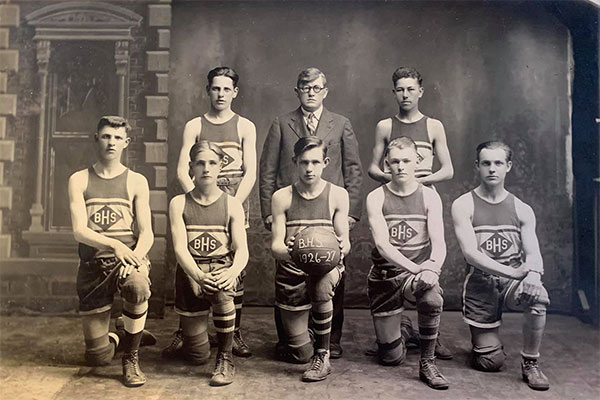 1926-1927 BHS Basketball Team