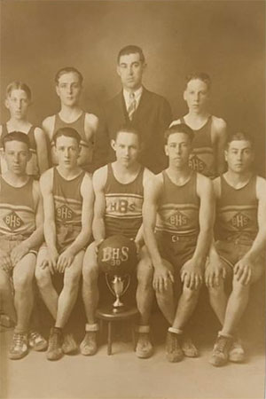 1929 - 1930 Beals High School Basketball Team