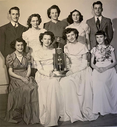 1948-1949 BHS Junior Public Speaking