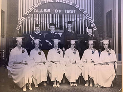 1951 BHS Graduation