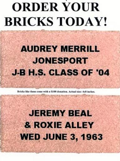 8x8 Brick Sales