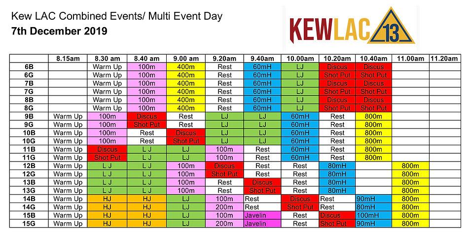 Kew LAC Summer 2019-2020 Multi event sch