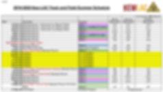 Kew LAC Summer 2019:20 schedule UPDATED.