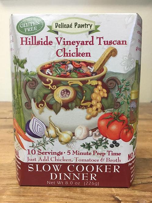Hillside Vineyard Tuscan Chicken Slow Cooker Soup