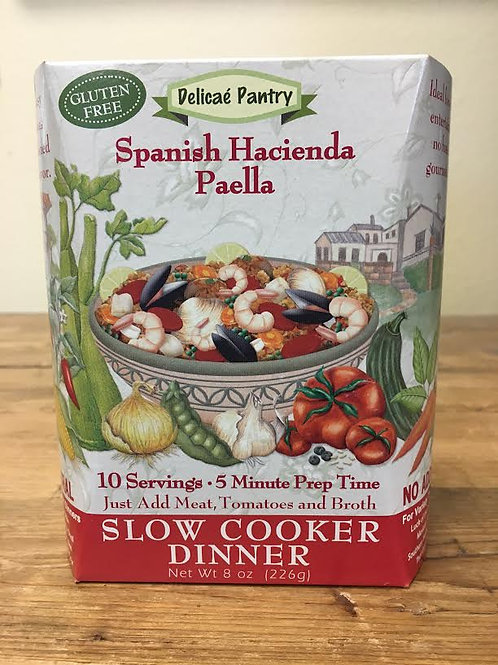 Spanish Paella Slow Cooker Soup