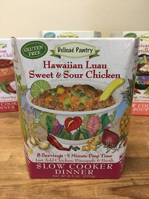 Hawaiian Luau Sweet & Sour Slow Cooker Soup