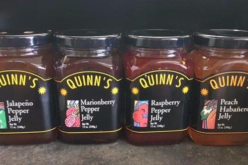 Quinn's Pepper Jelly 12 oz