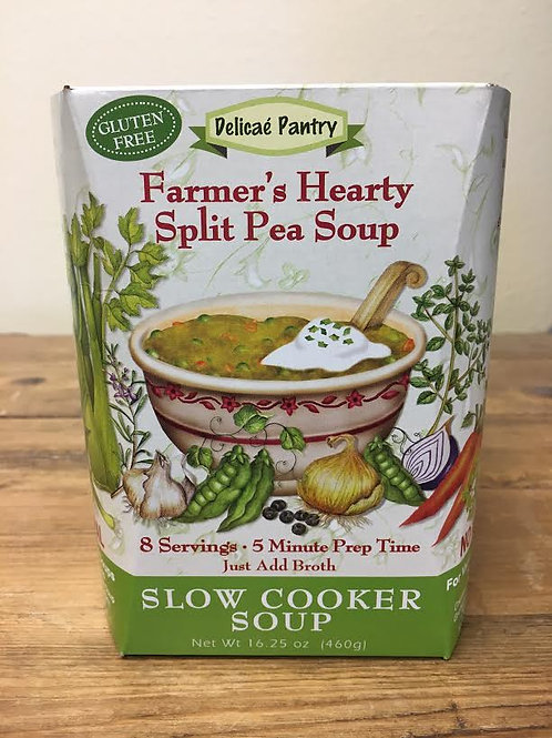 Farmers Hearty Split Pea Slow Cooker Soup