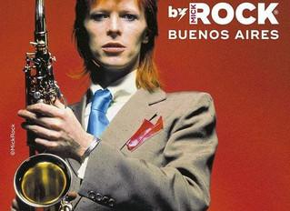 Instalacion Retro - Muestra Bowie by Mick Rock - La Rural