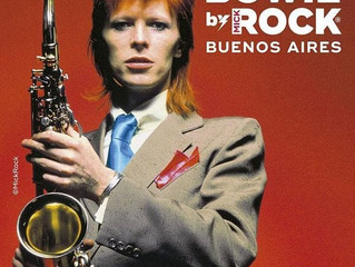 Instalacion Retro - Muestra Bowie by Mick Rock - La Rural