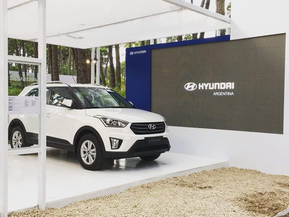 Pantalla de Led - Stand Hyundai