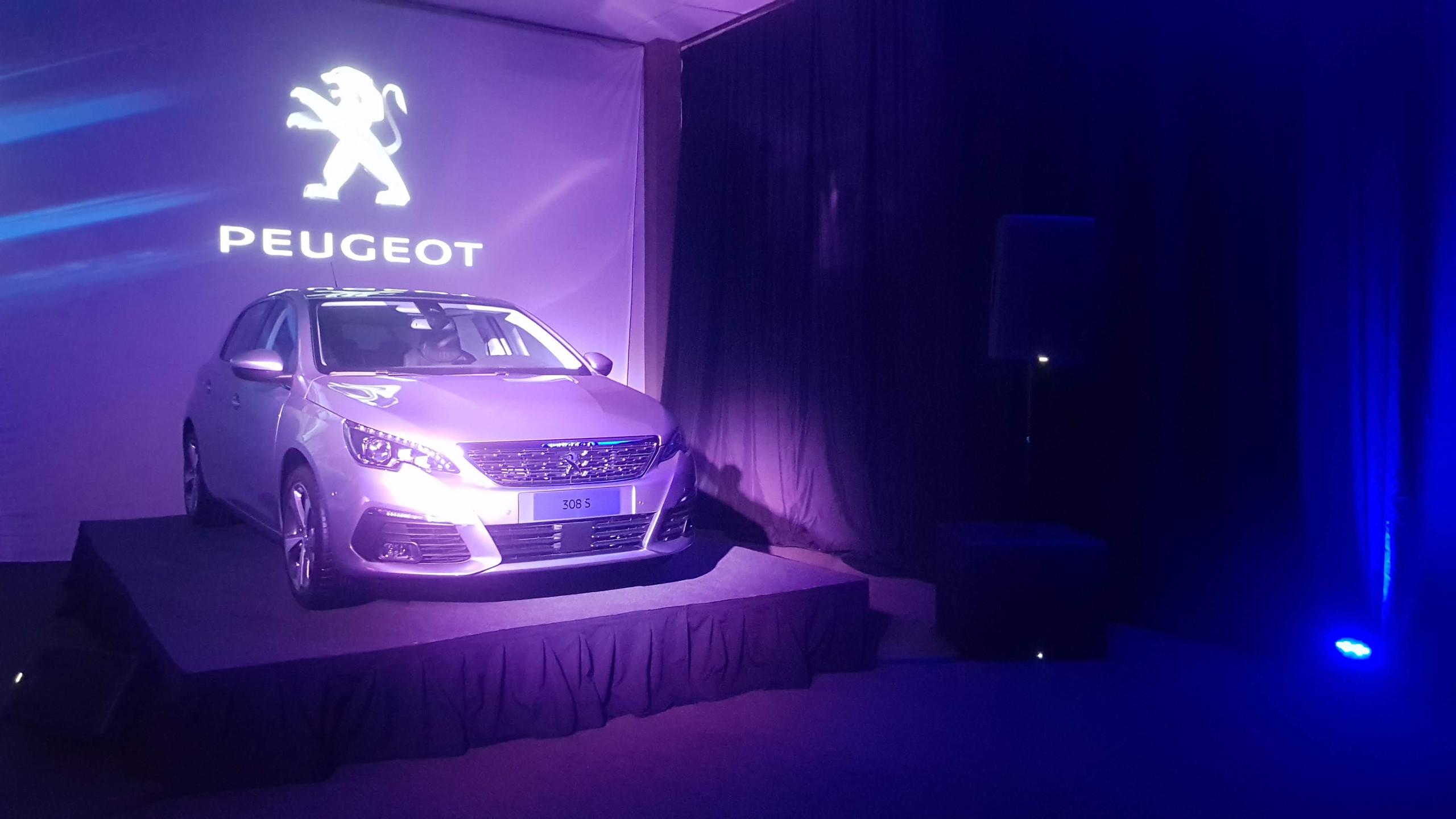 Lanzamiento Peugeot 308 S