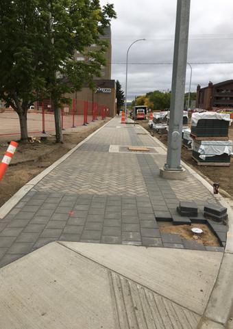 WBCL Paving Stones and Sidewalk