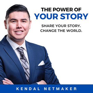 The Power of Your Story - Audible Cover