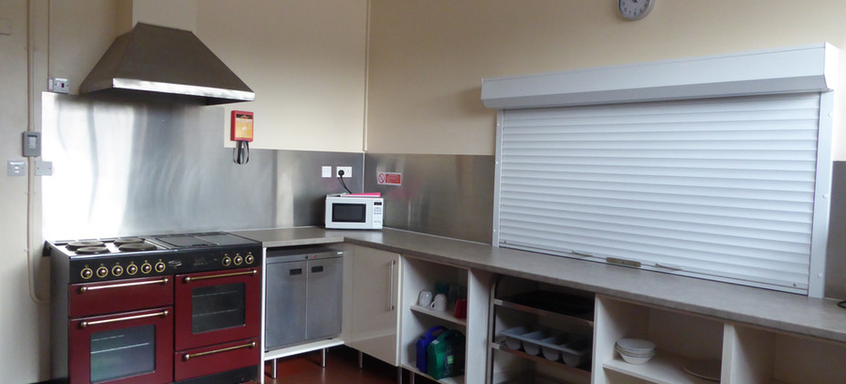 The Fenton Room kitchen