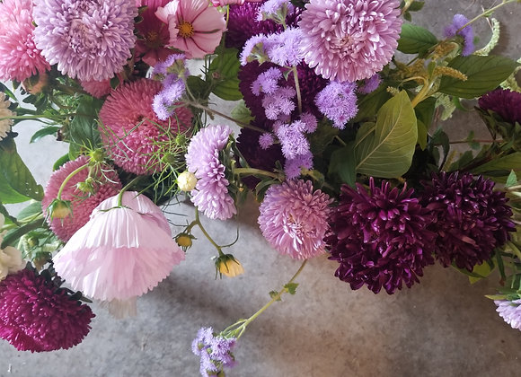 August Flower Subscription (pick-up)