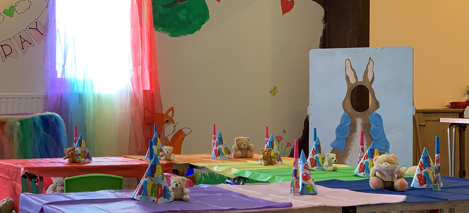 The Enchanted Forest Party Room