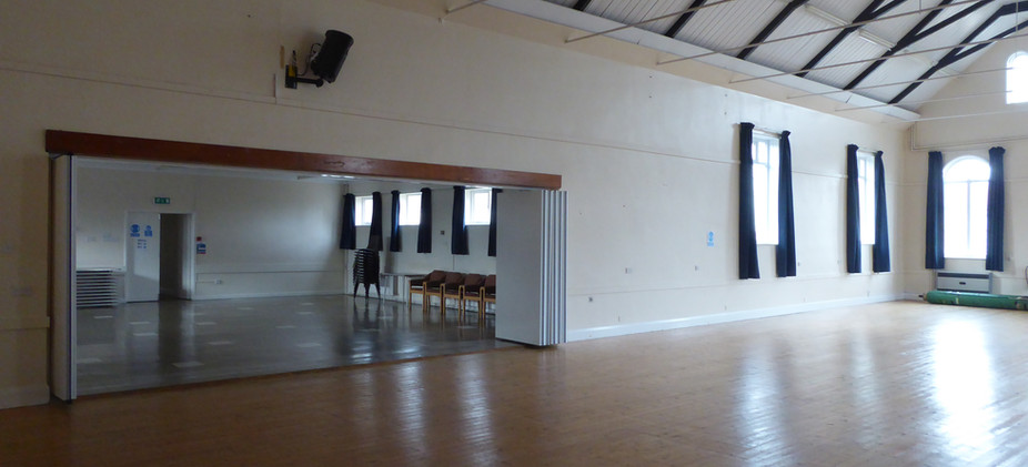 From St George's Hall into the Fenton Room