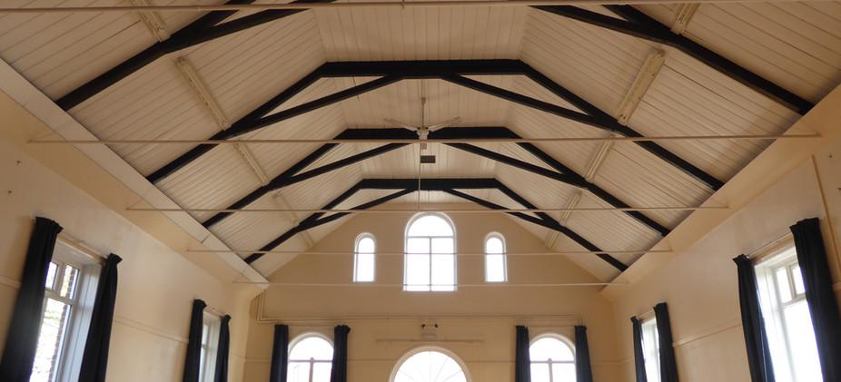 Inside St George's Hall