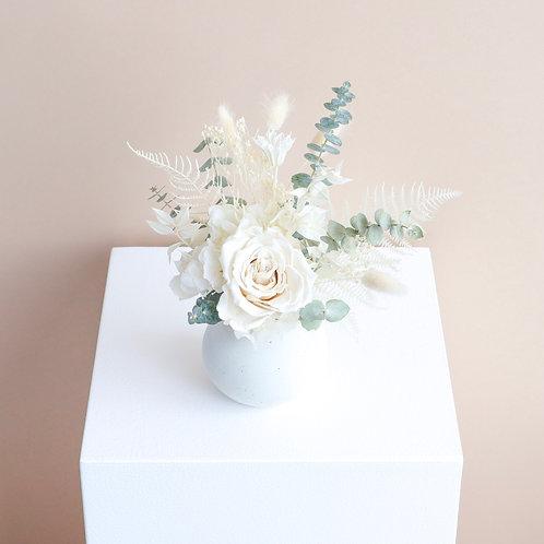 Eucalyptus Stone Bud Vase
