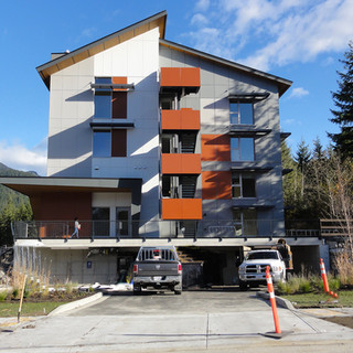 Targeting Passive House Certification - WHA Staff Housing, Whistler, BC