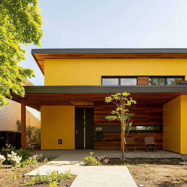 Alberta Street Passive House, New Westminster, BC