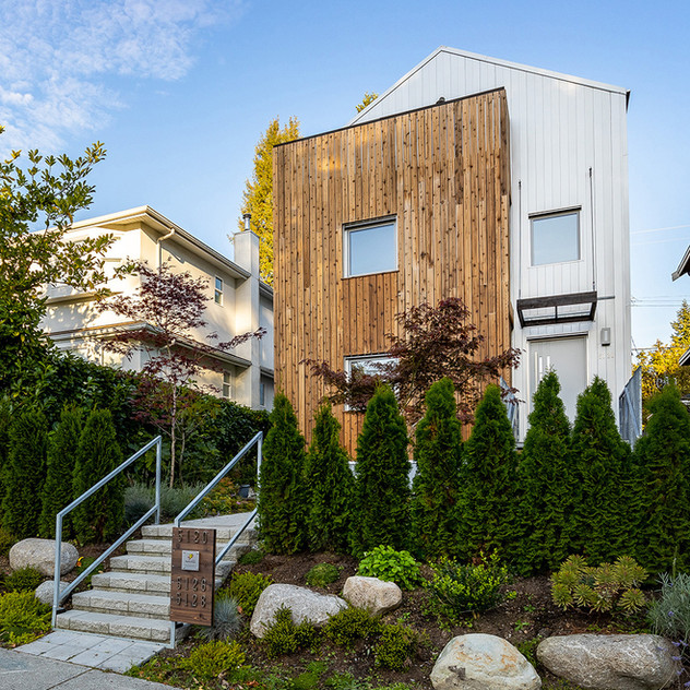 Dunbar Street Certified Passive House