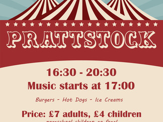 PrattsStock : Friday 13th July