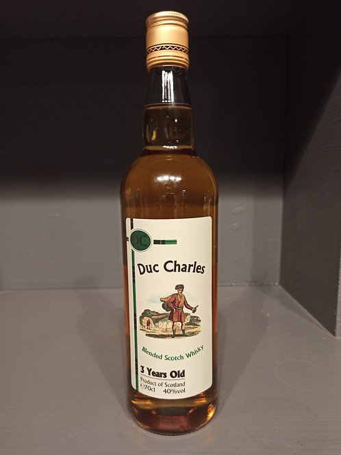 Scotch Whisky Duc Charles
