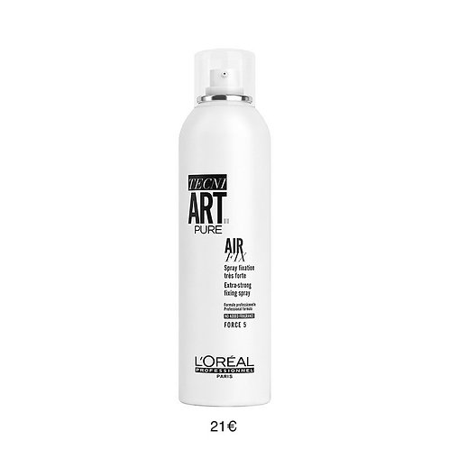 Spray fixation très forte - Force 5 - Art Pure - L'Oréal