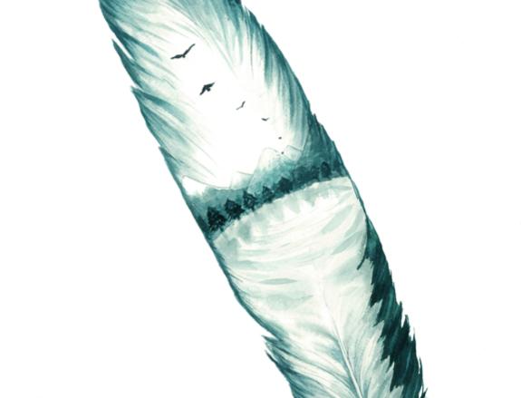Eagle feather - Piuma di aquila