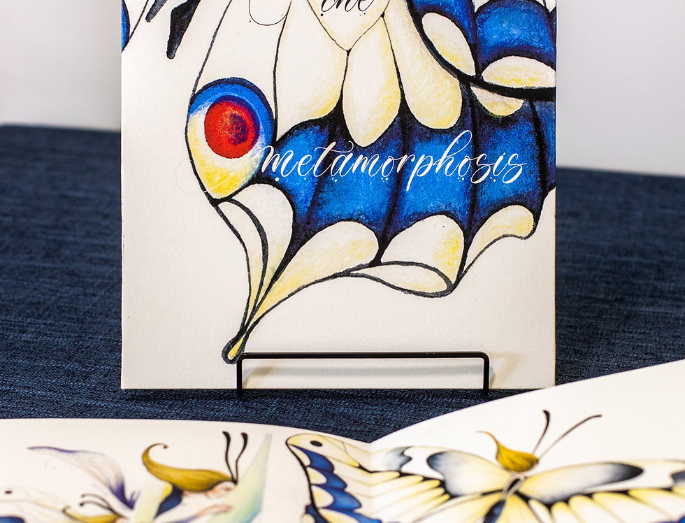 The Metamorphosis Concertina Book