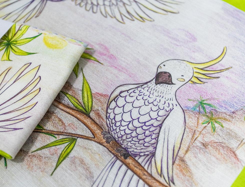 Torquay Cockatoos textile design