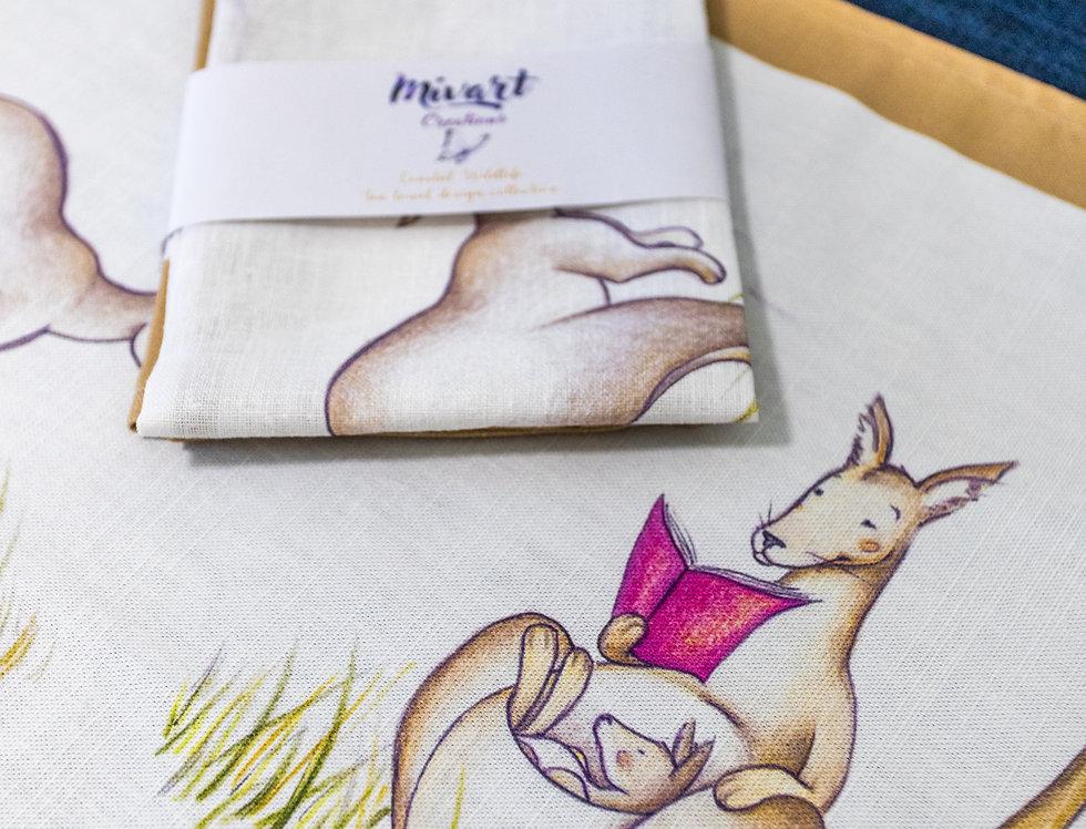 Anglesea Kangaroos textile design