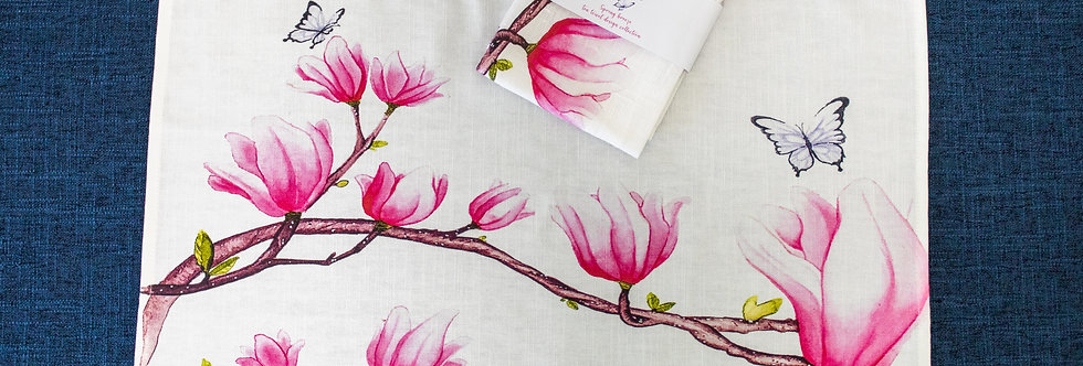 Dance of butterfly textile art