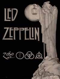 IV Album de Led Zeppelin - Ilustração interna