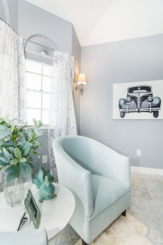 Master bedroom sitting nook