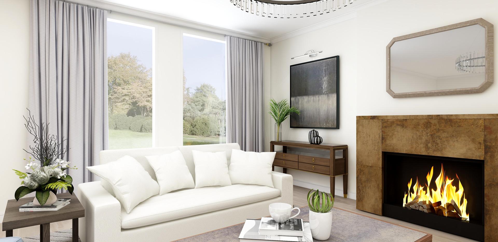 Cloud sofa Render