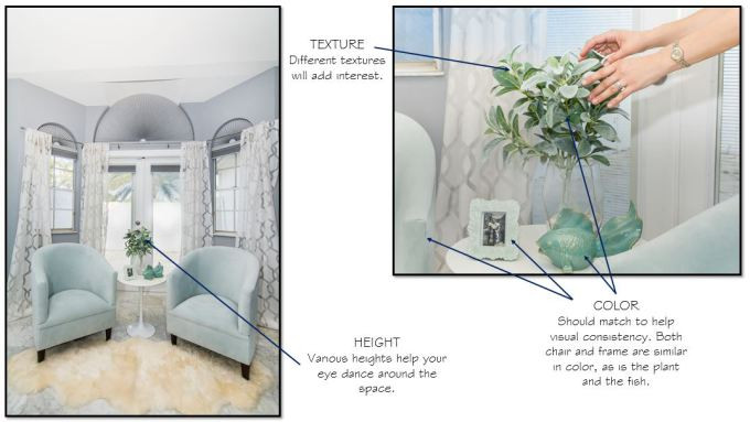 How to style your space like a pro using height variation