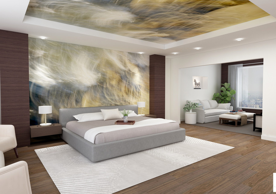 Master Bedroom rendering